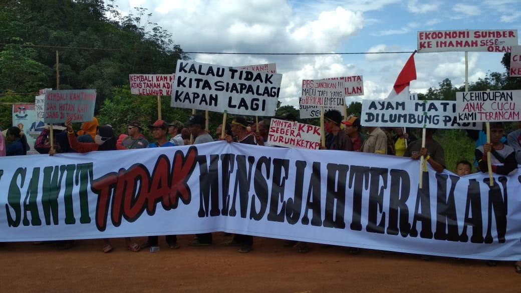 Tidak Mensejahterakan, Warga Demo Perusahaan Sawit